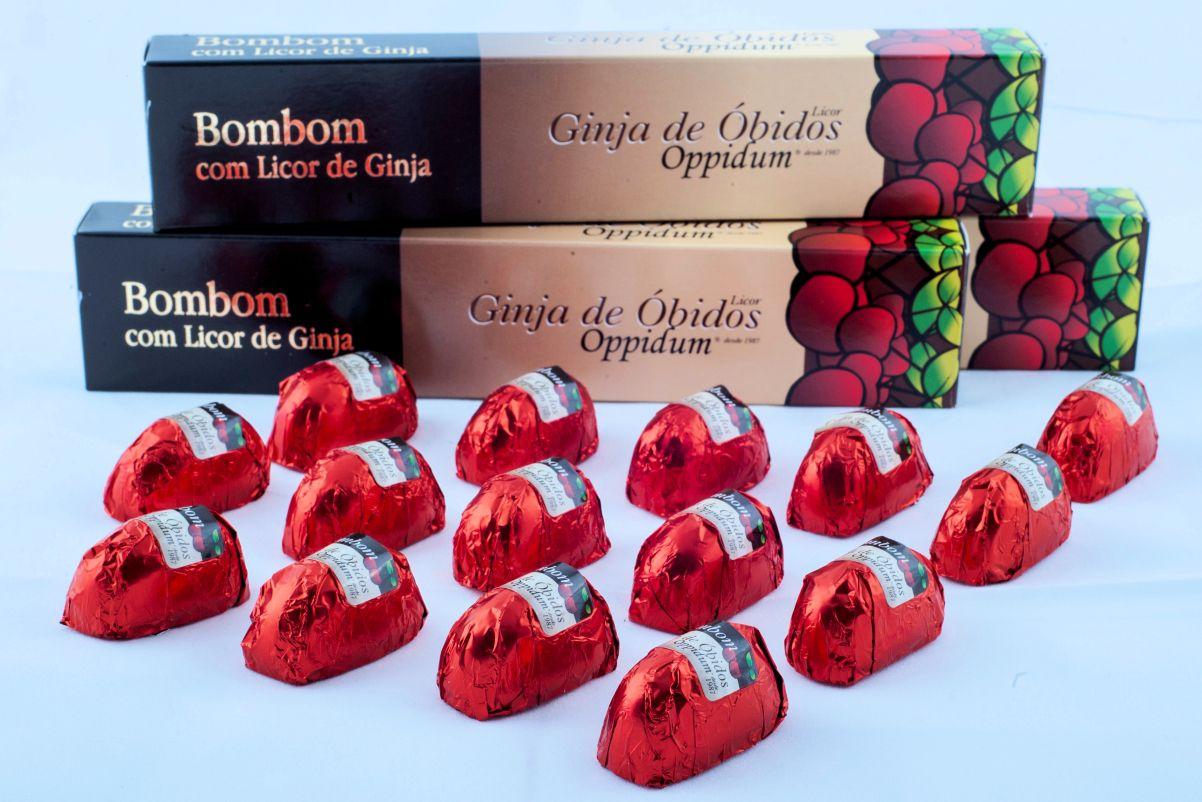 Bombons com Ginja de Óbidos